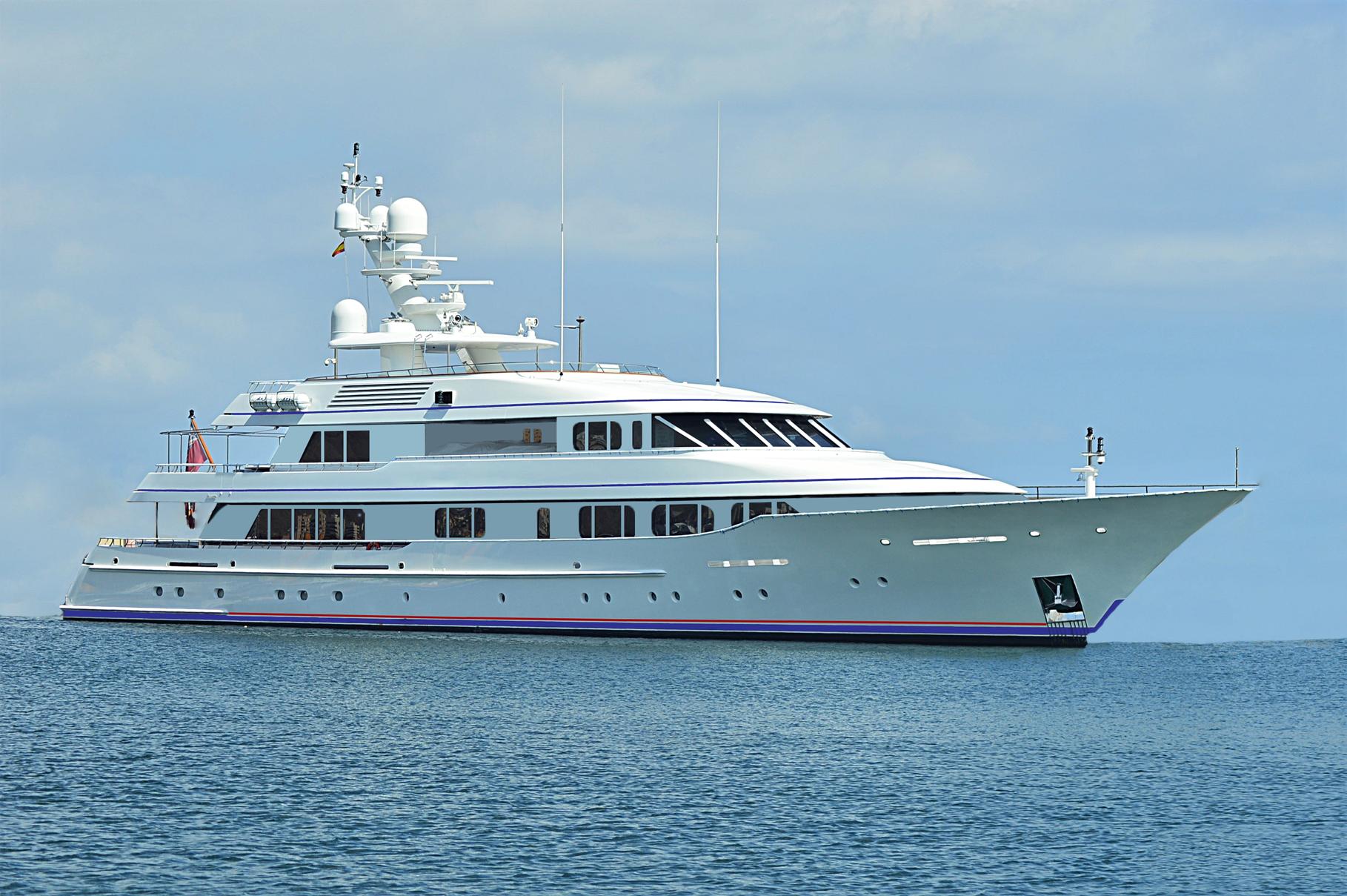 Luxury motor yacht CYNTHIA