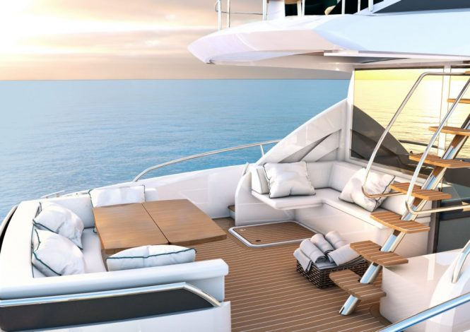 Sichterman Yachts - Felicitatem 20m aft