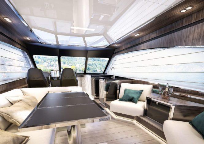 Sichterman Yachts - Felicitatem 20m interior