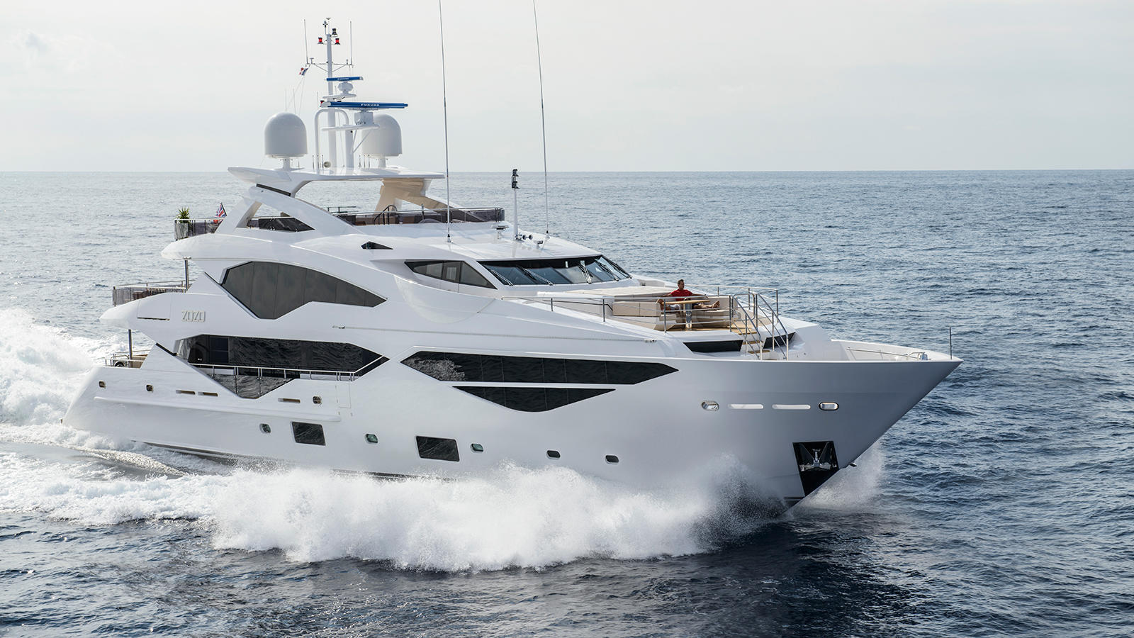 Sunseeker 131 yacht - sistership to motor yacht SONISHI