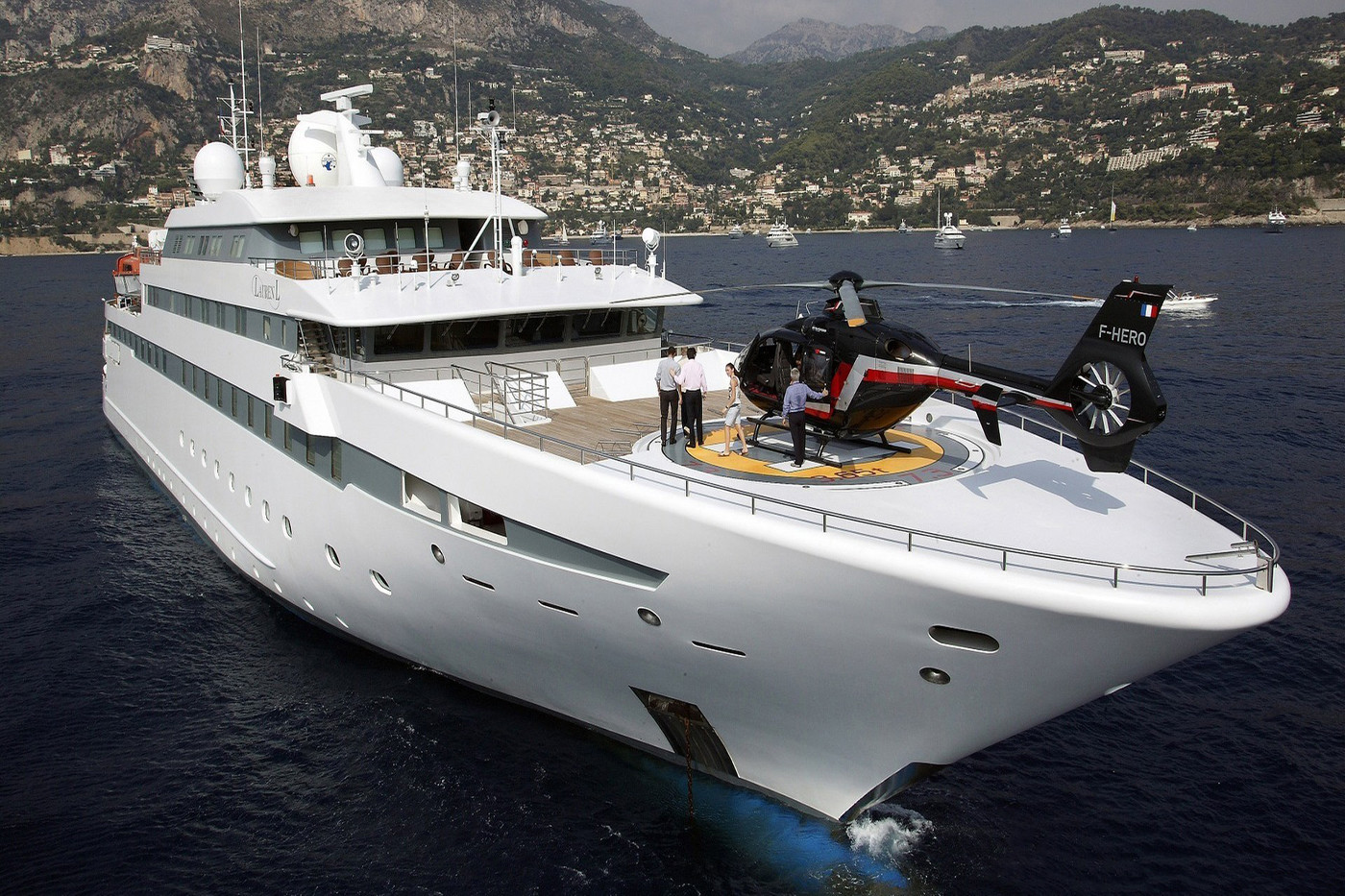 Luxury motor yacht LAUREN L