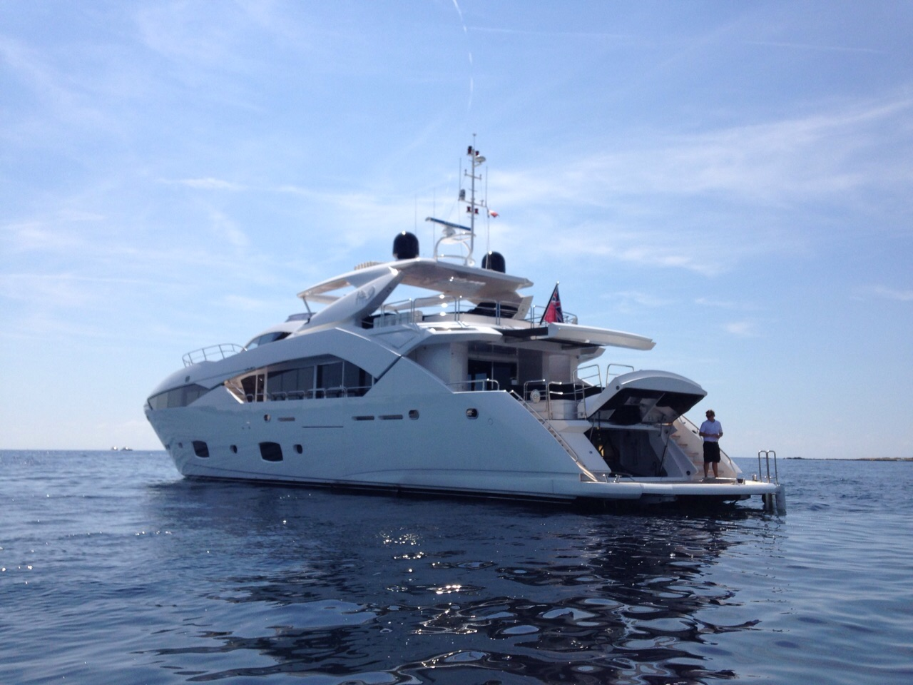 No.9 of London motor yacht
