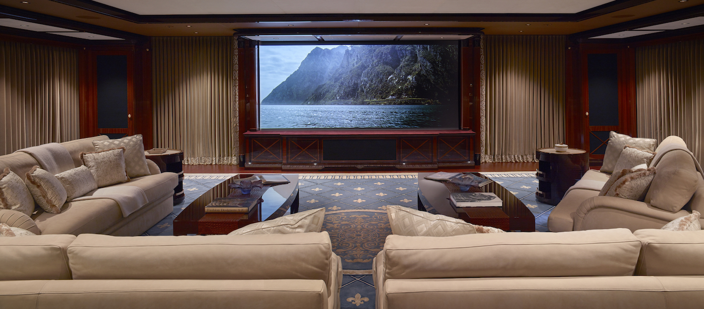 Cinema (© Imperial Yachts)