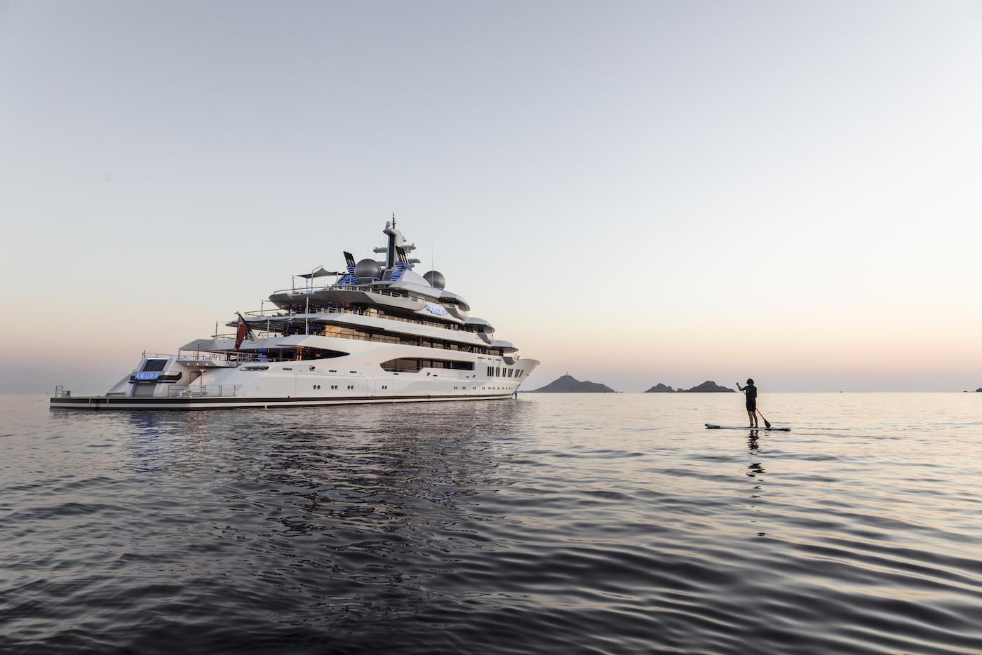 106m superyacht AMADEA - © Imperial Yachts
