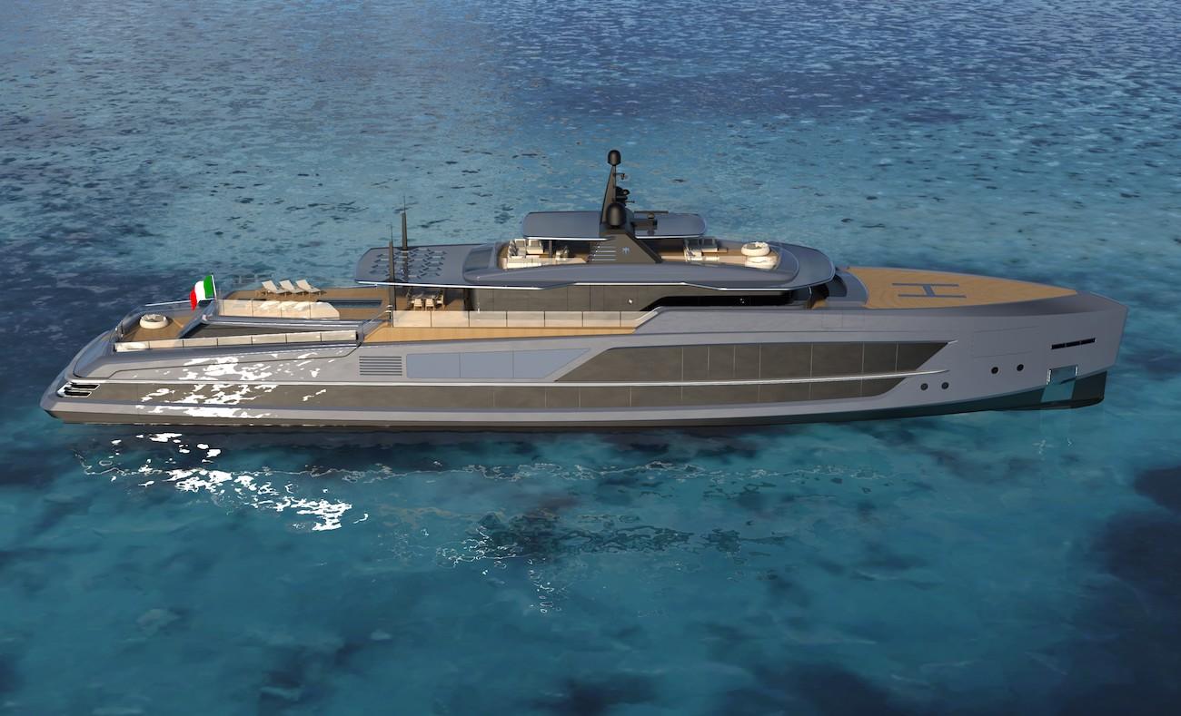 65m Baglietto superyacht by Francesco Paszkowski