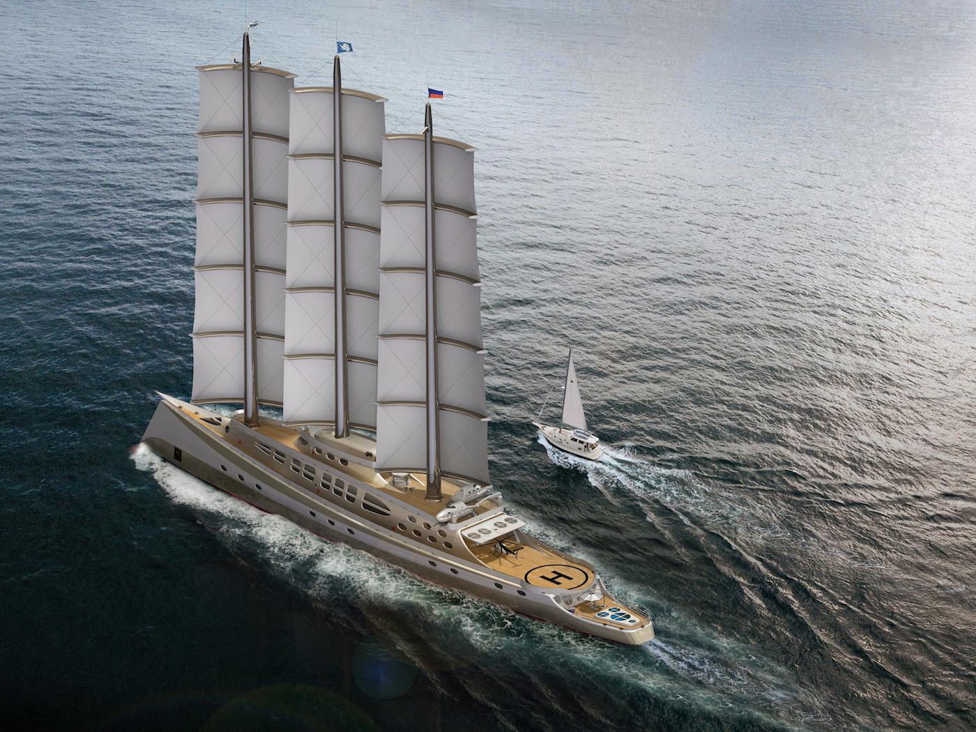 CARIBU sailing yacht by Steve Kozloff