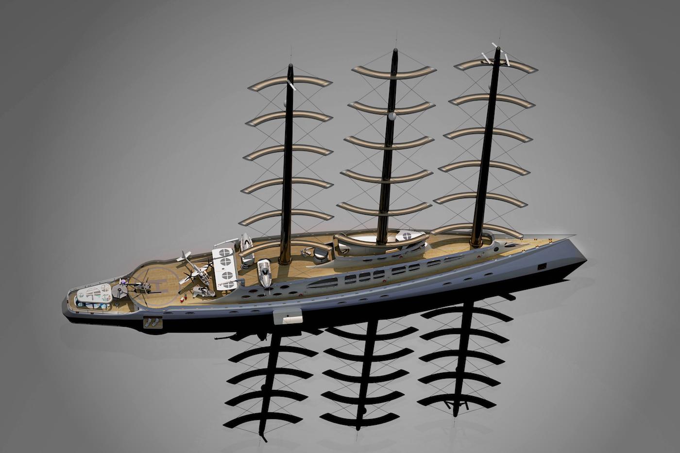 Polar Sailing Yacht CARIBU