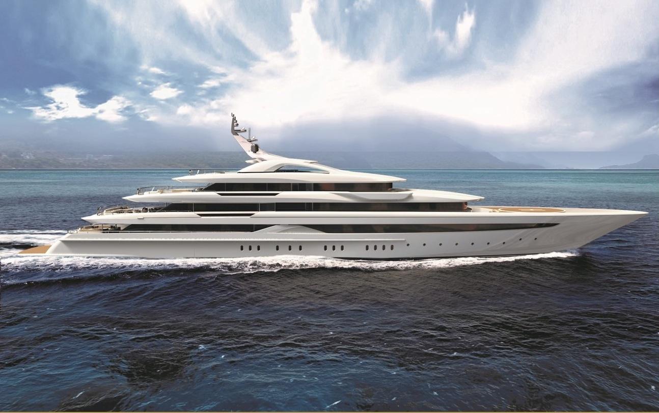 95m mega yacht O'PARI by Golden Yachts