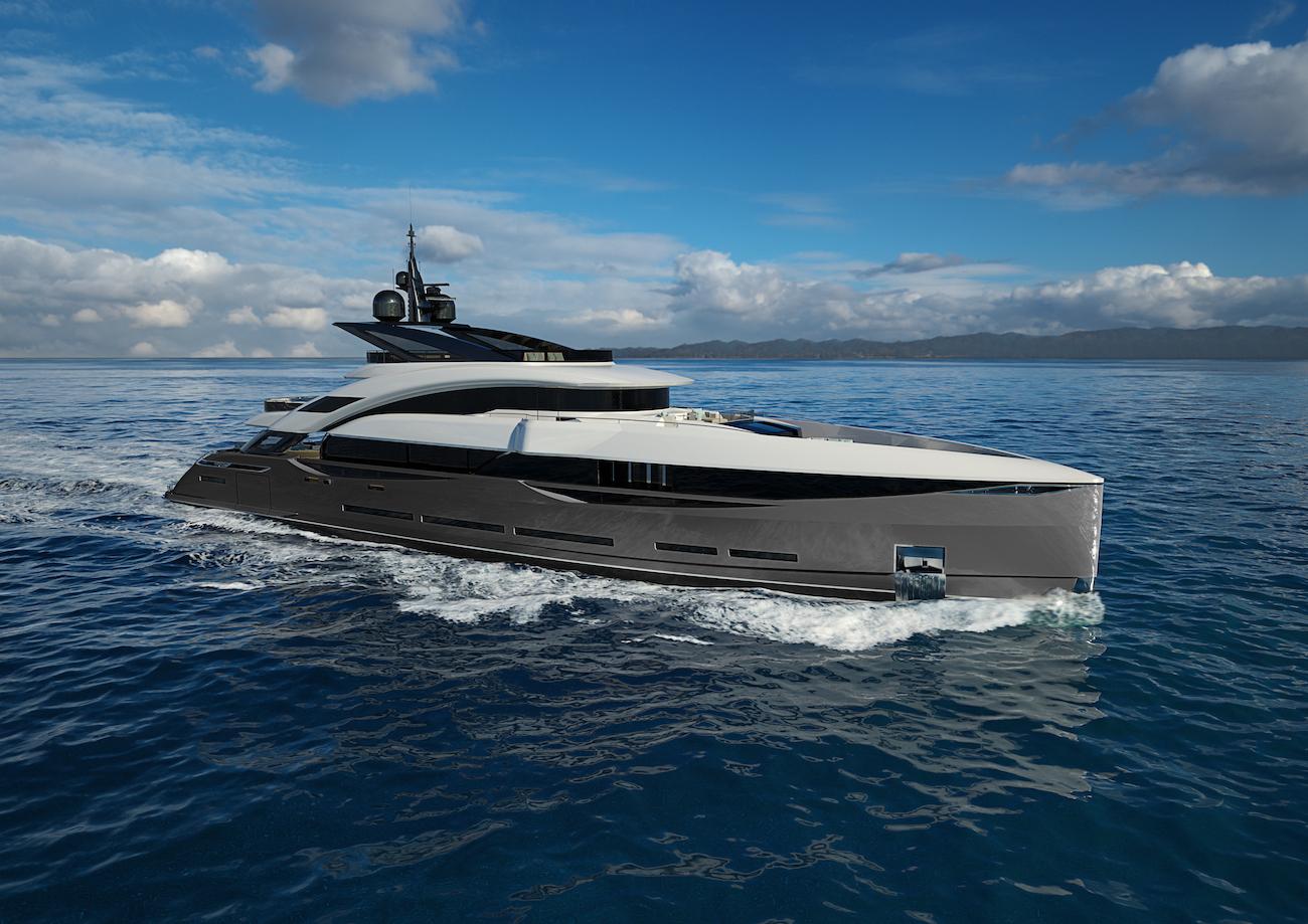 ISA 45m Gran Turismo yacht