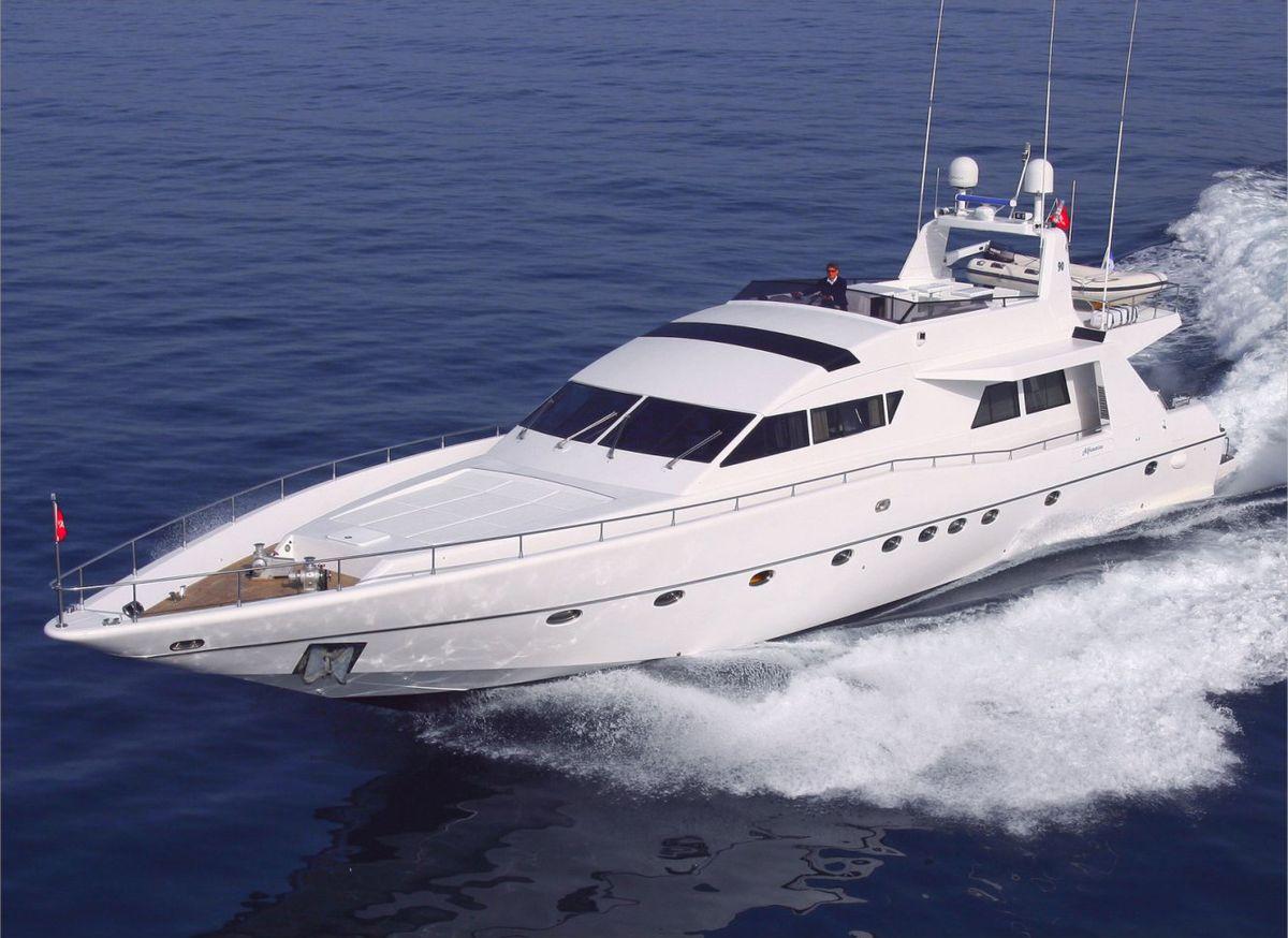 Luxury yacht WISH