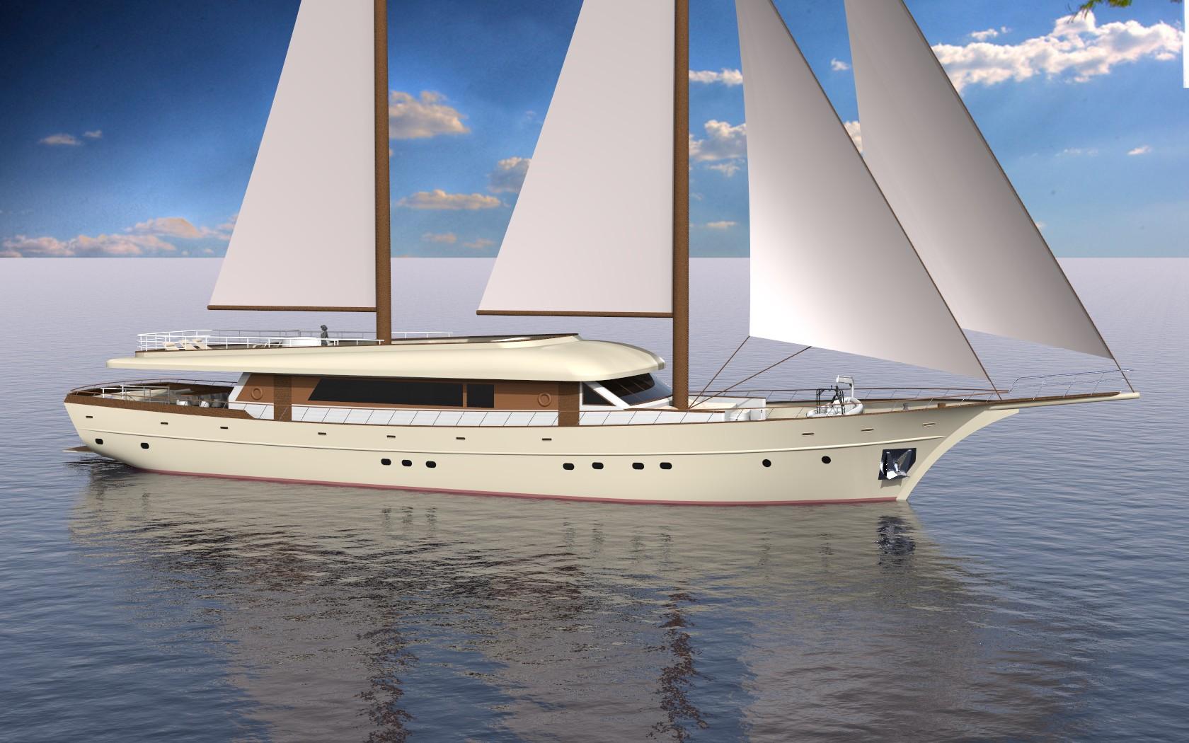 SON DE MAR rendering - Starboard side