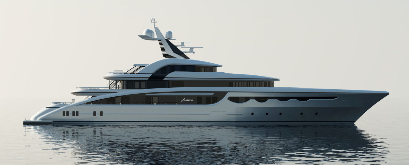 Motor yacht SOARING by Abeking and Rasmussen