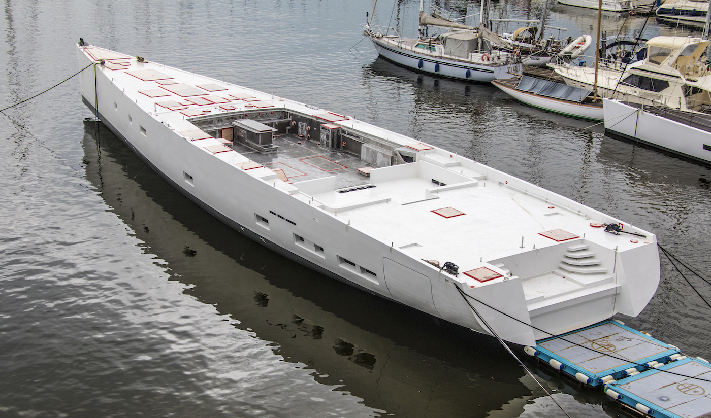SY 42m E-volution GTS sailing yacht