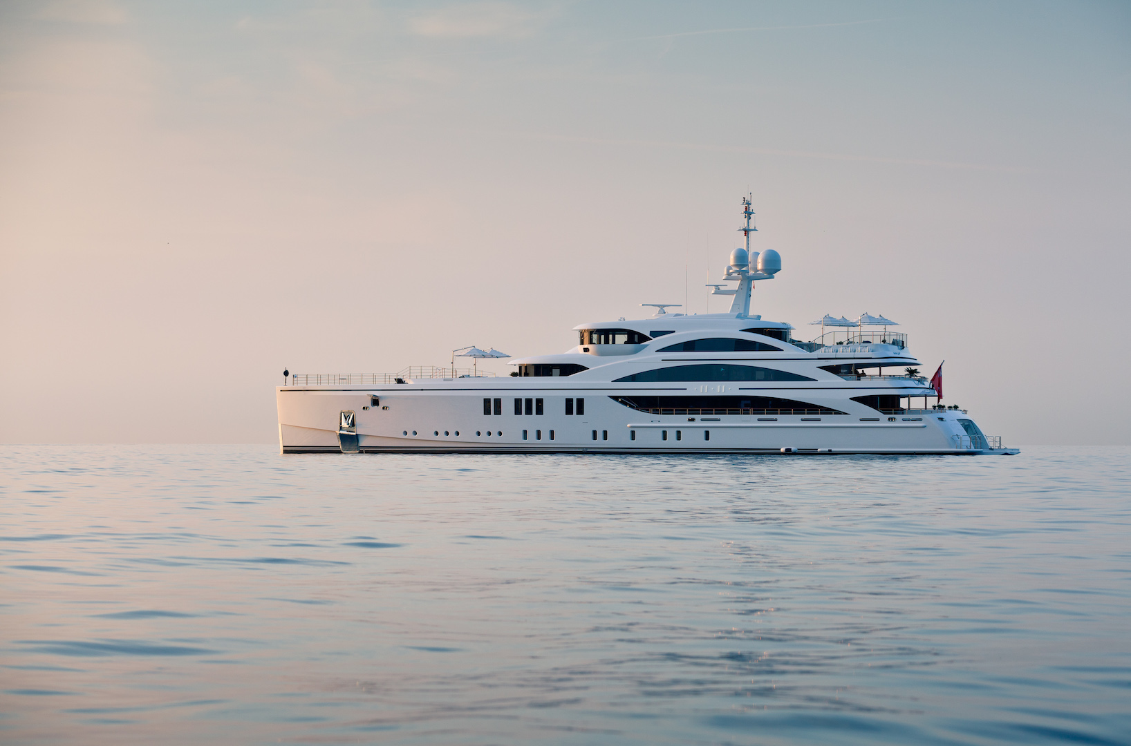 Beauty and elegance in superyacht 11.11 - Photo © Jeff Brown