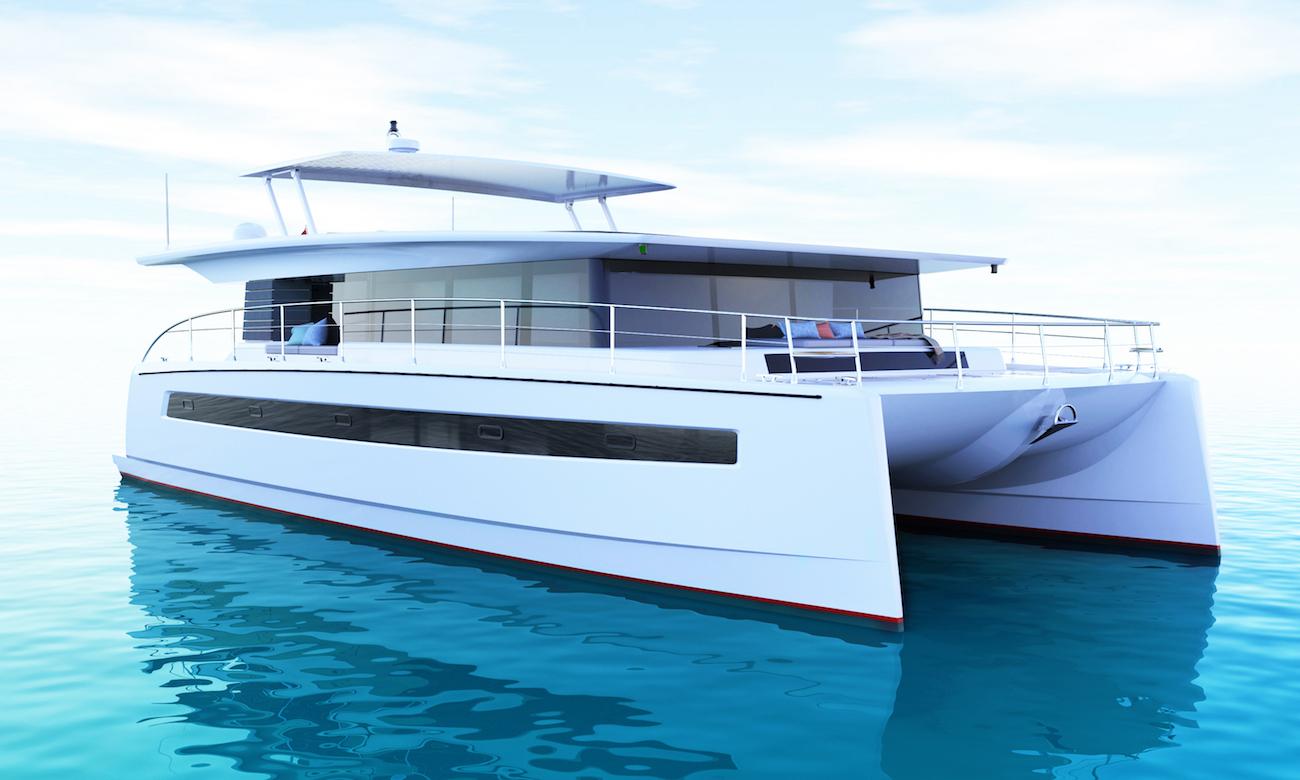 catamaran yacht Silent 60