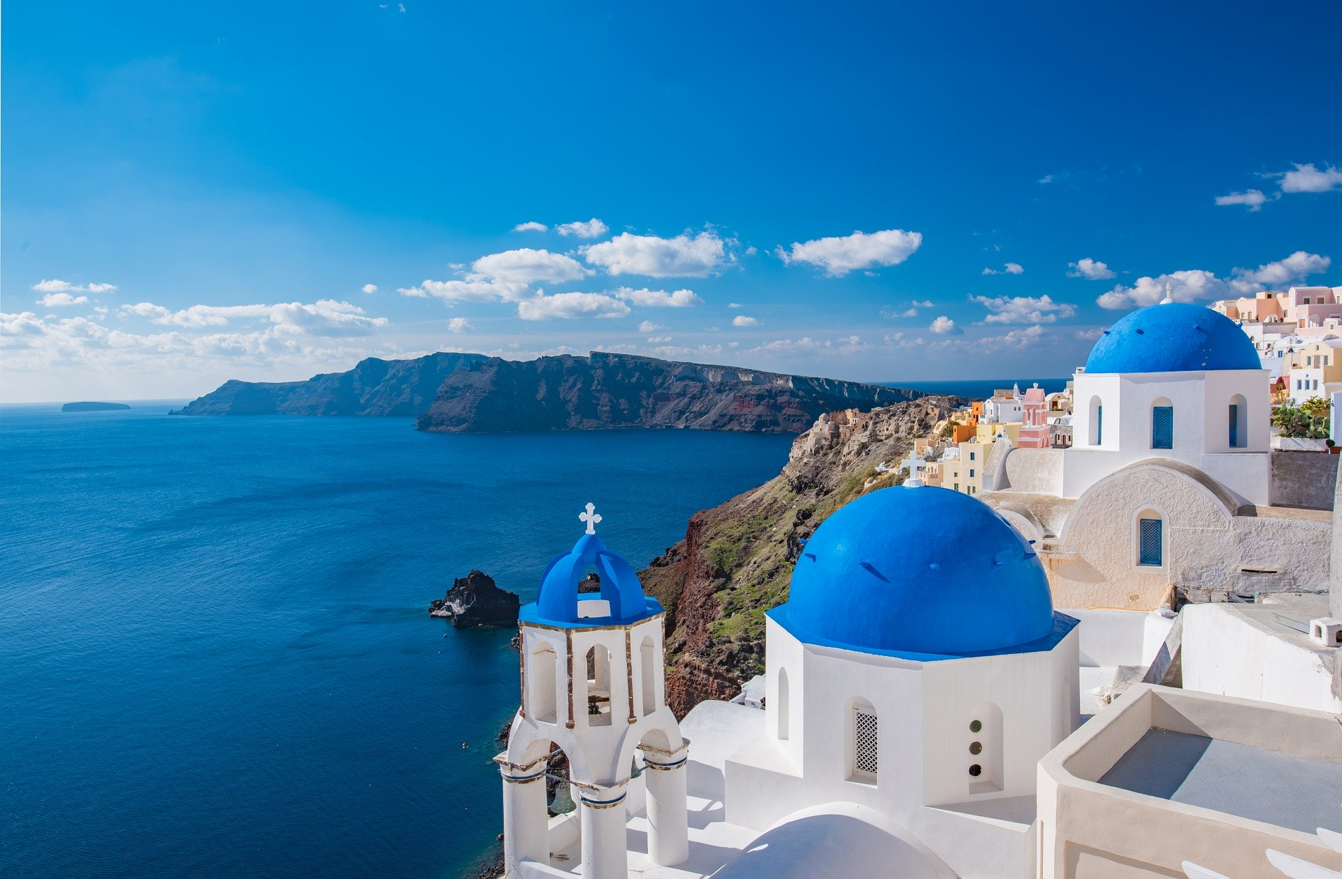 Church on the Island of Santorini - Photo © Russel_Yan