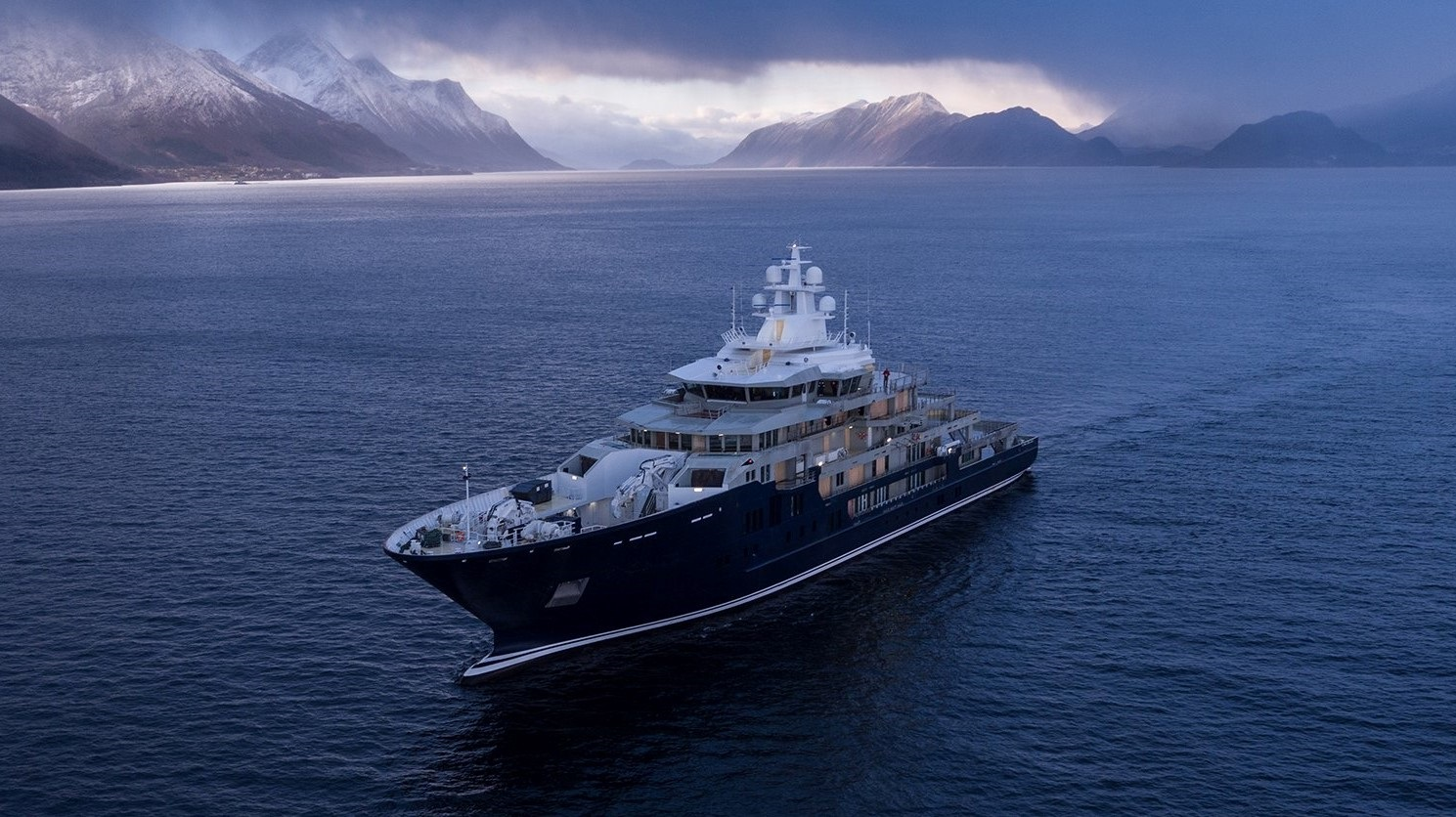 One of the most spectacular charter explorer yachts - ULYSSES