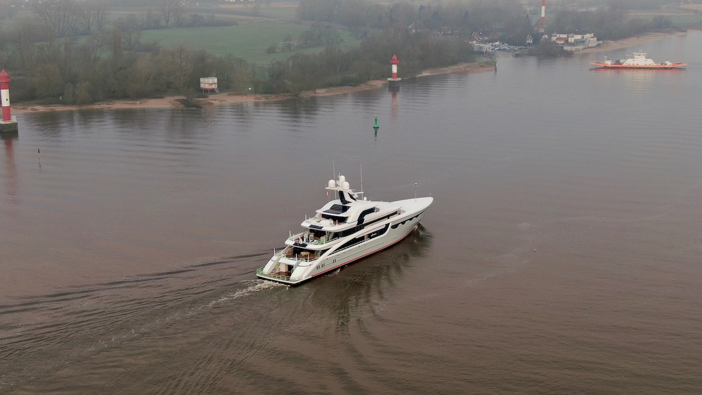 SOARING on sea trials - drone view - Photo @ DrDuu