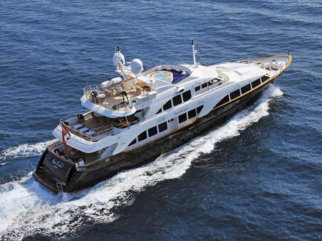 Benetti yacht SEABLUEZ