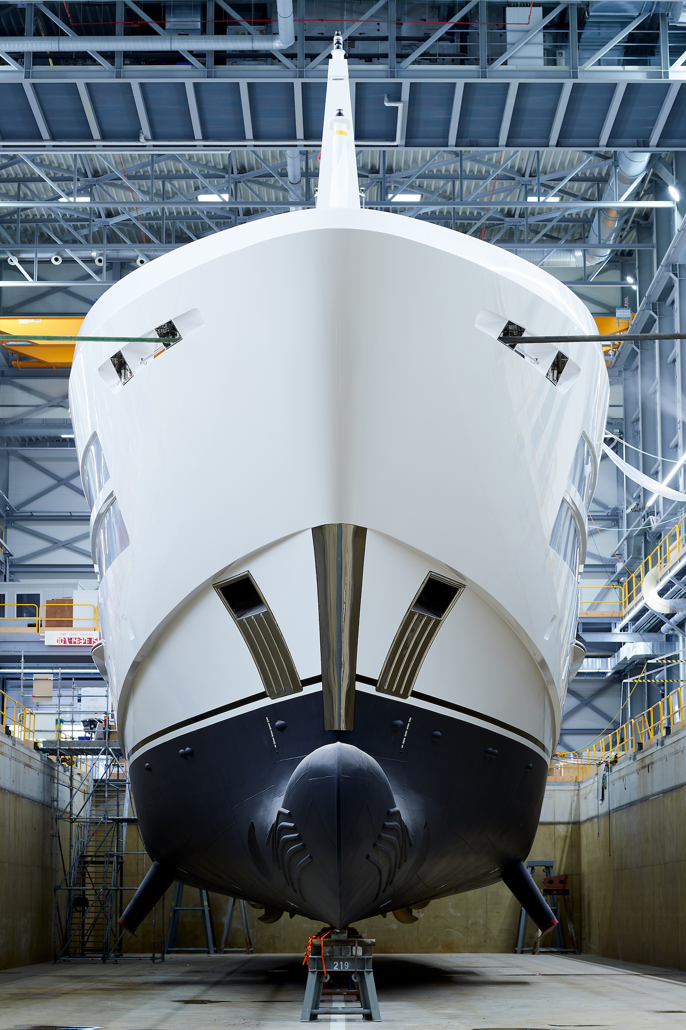 HY19055 Project Castor under construction - Photo Heesen Yachts