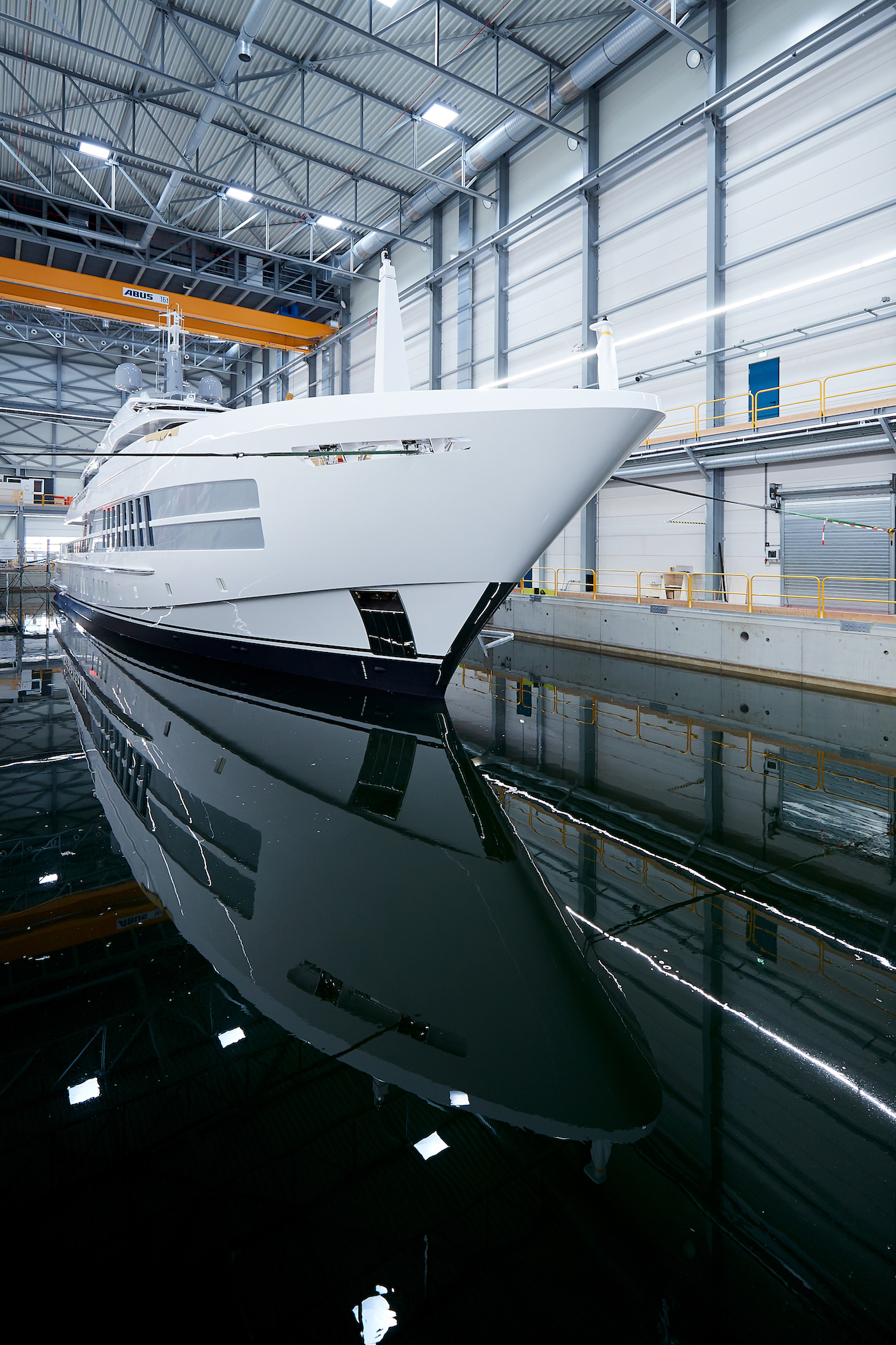 Motor yacht Project Castor launched - Photo Heesen Yachts