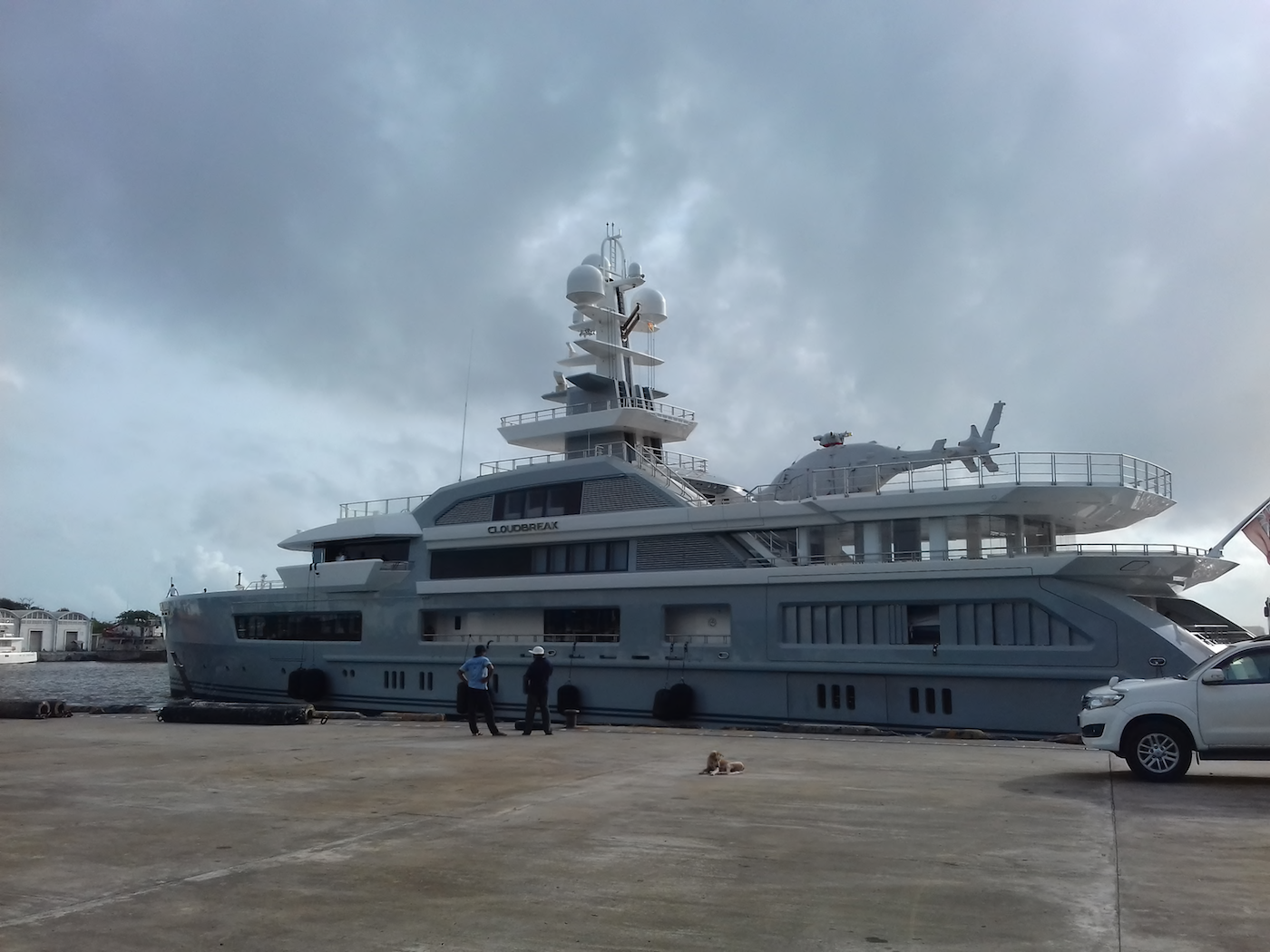Luxury charter yacht CLOUDBREAK in Sri Lanka before moving onto the Mediterranean