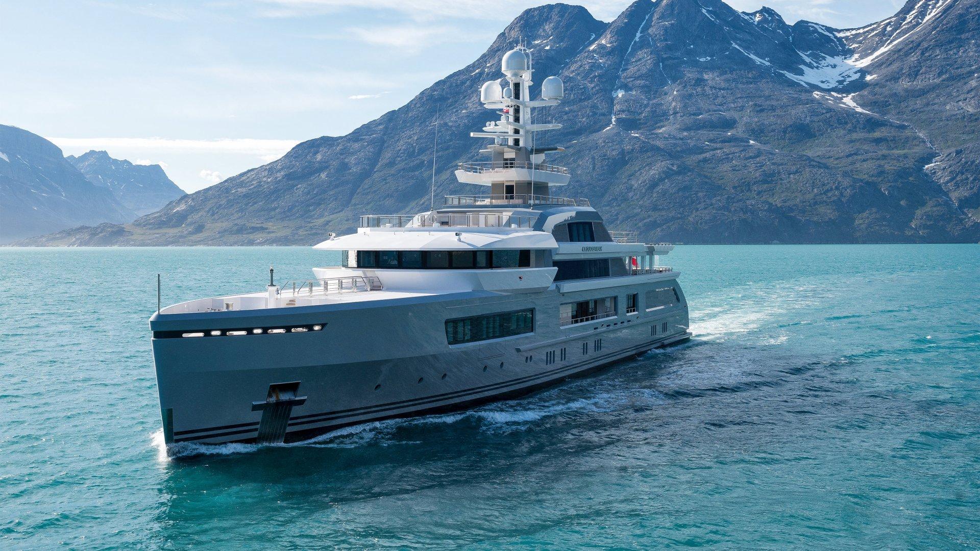 Motor yacht CLOUDBREAK