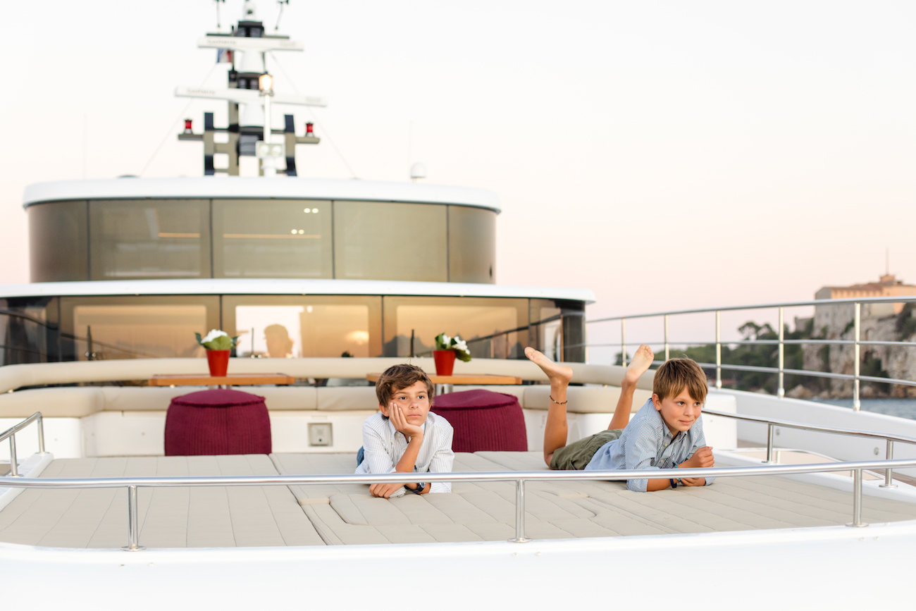 Luxury charter yacht MIA offers family-friendly charter vacations