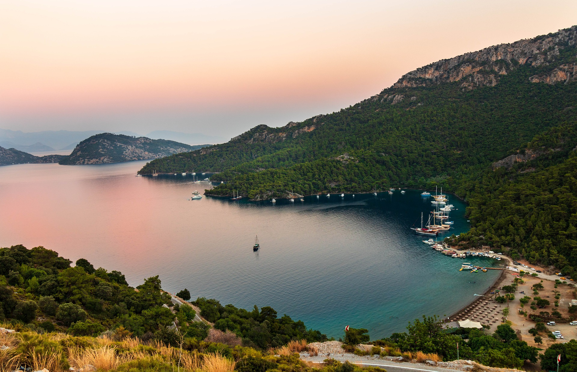 Beautiful Turkey - enchanting destination for charter yachts and luxury vacationers