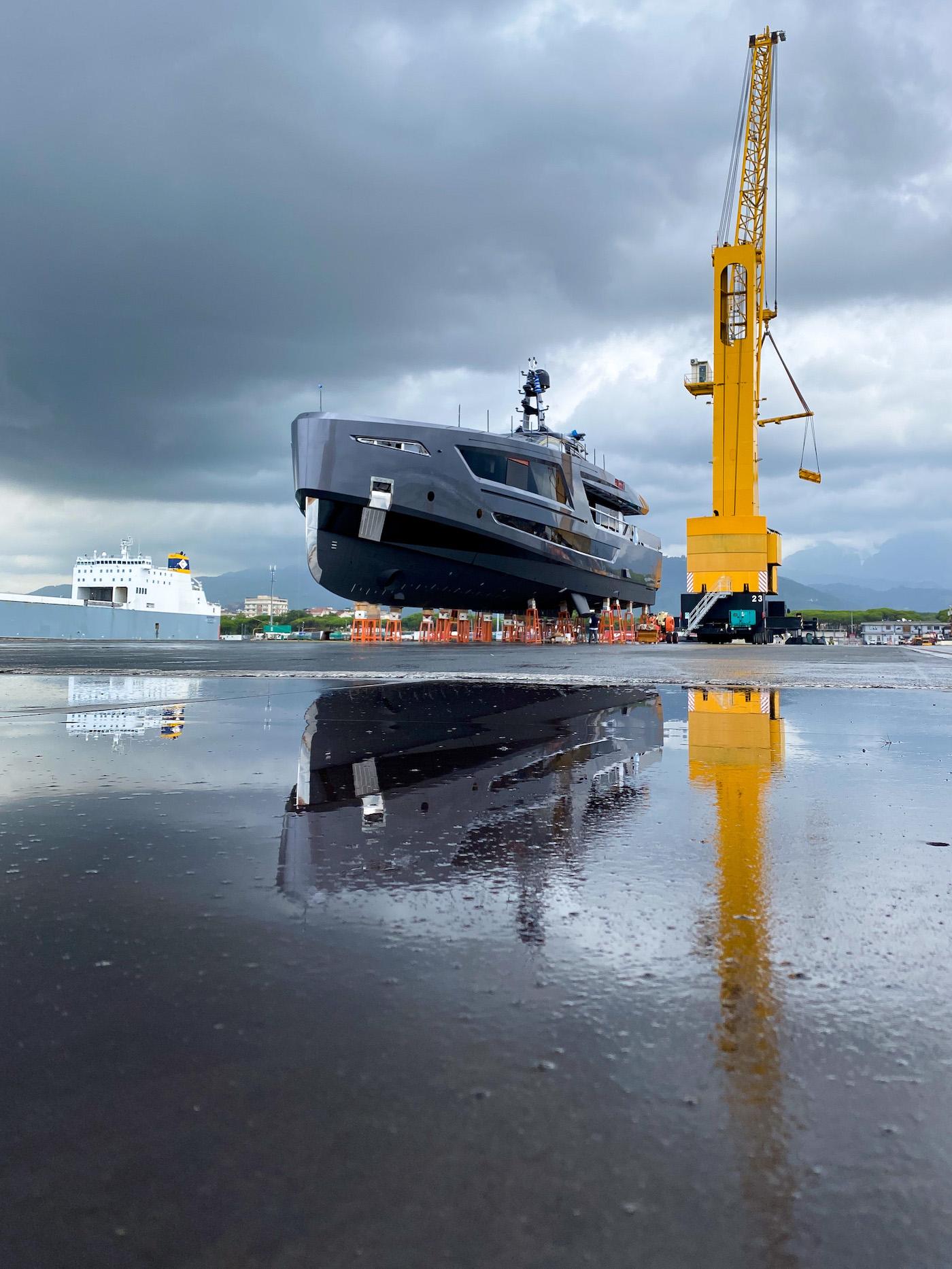 Panam superyacht 40M Photo © Morando