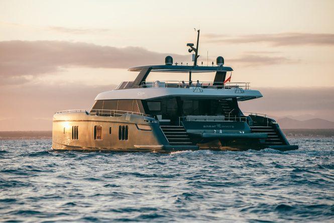 On Board Tennis Superstar Rafael Nadal S New Luxury Catamaran Yacht Great White Yacht Charter Superyacht News