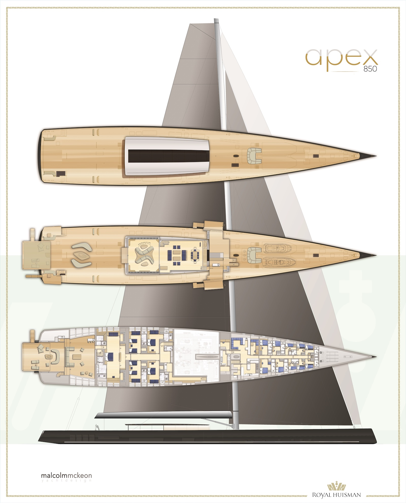 APEX 850 General Arrangement