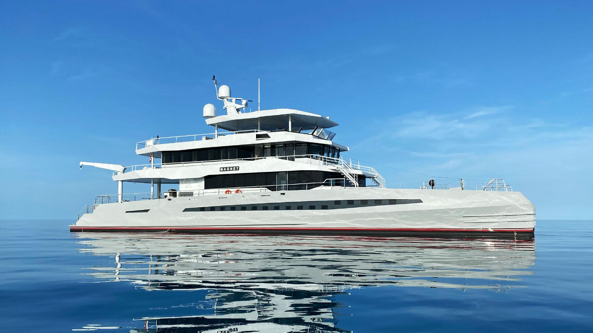 Superyacht MAGNET © Metal Shark Yachts