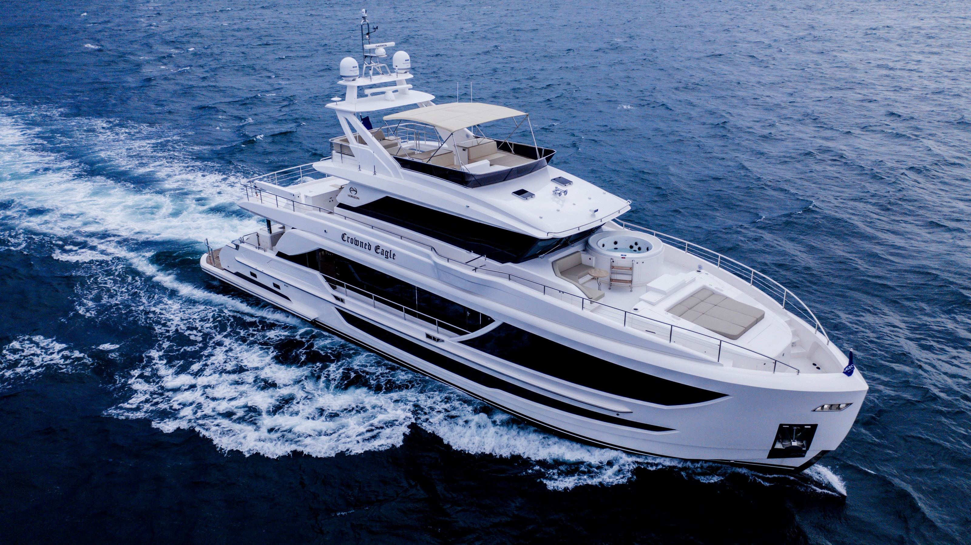 Motor yacht CROWNED EAGLE