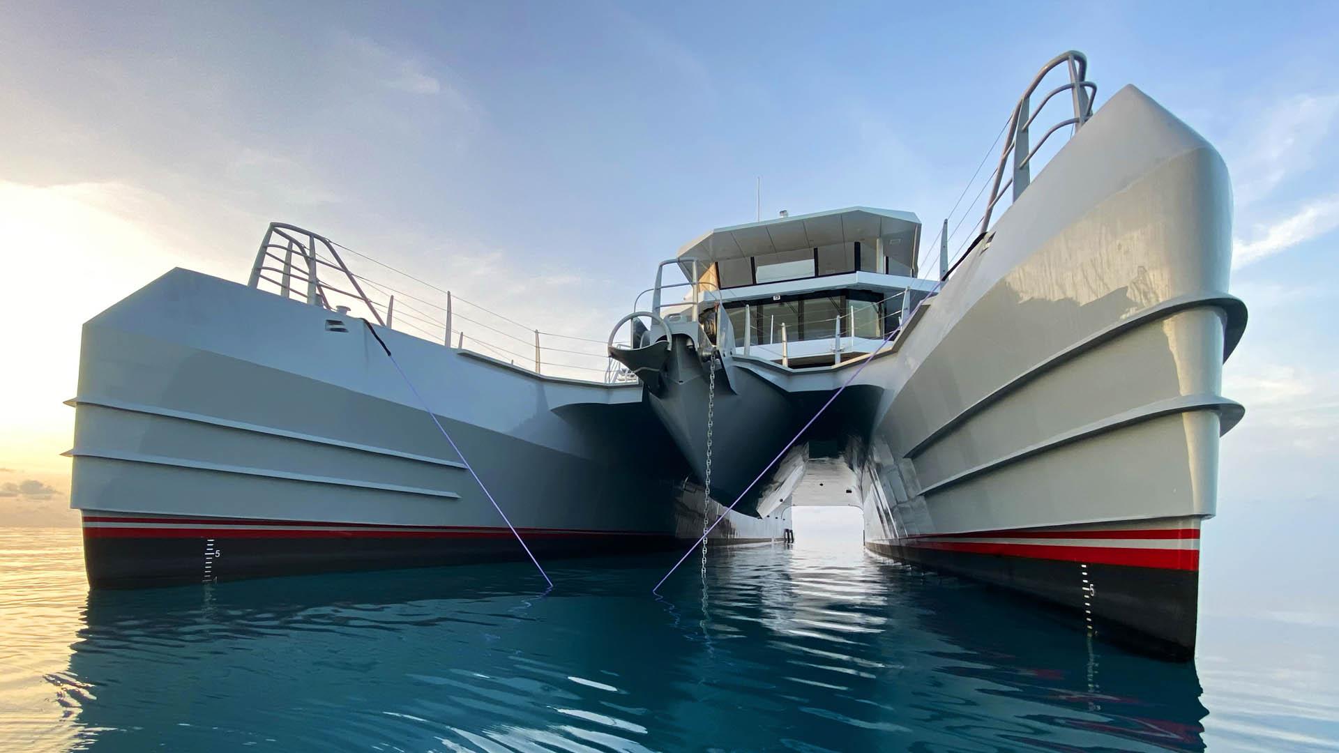 luxury catamaran MAGNET © Metal Shark Yachts