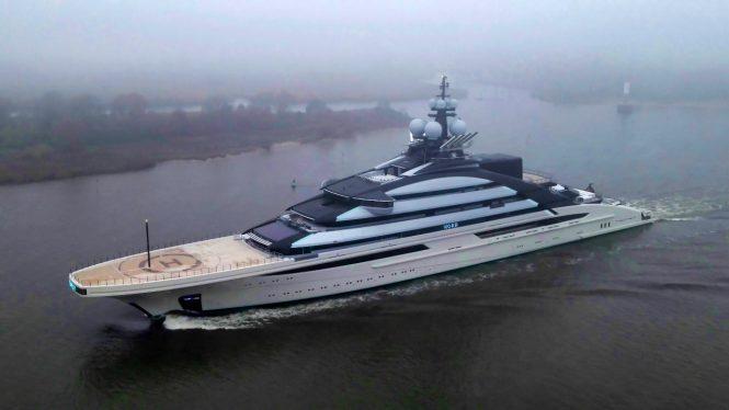 Mega yacht Nord @ DrDuu