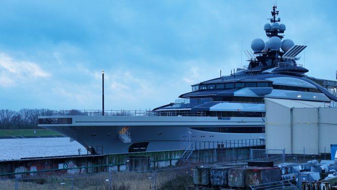 142m mega yacht NORD by Lurssen © DrDuu