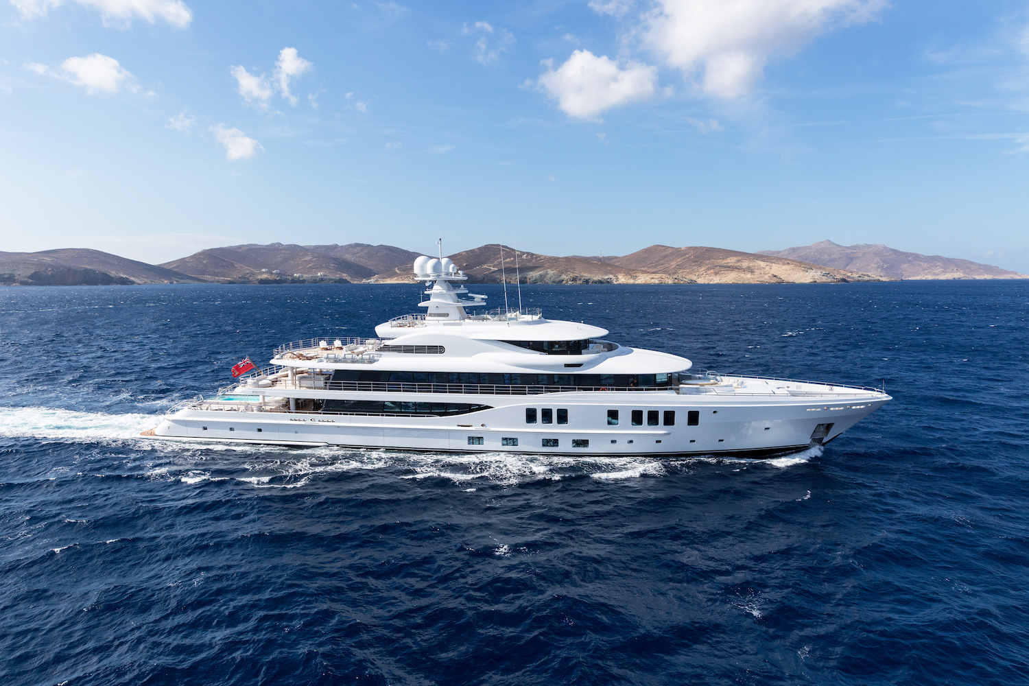 Luxury yacht Project Shadow © Amels and Damen Yachting