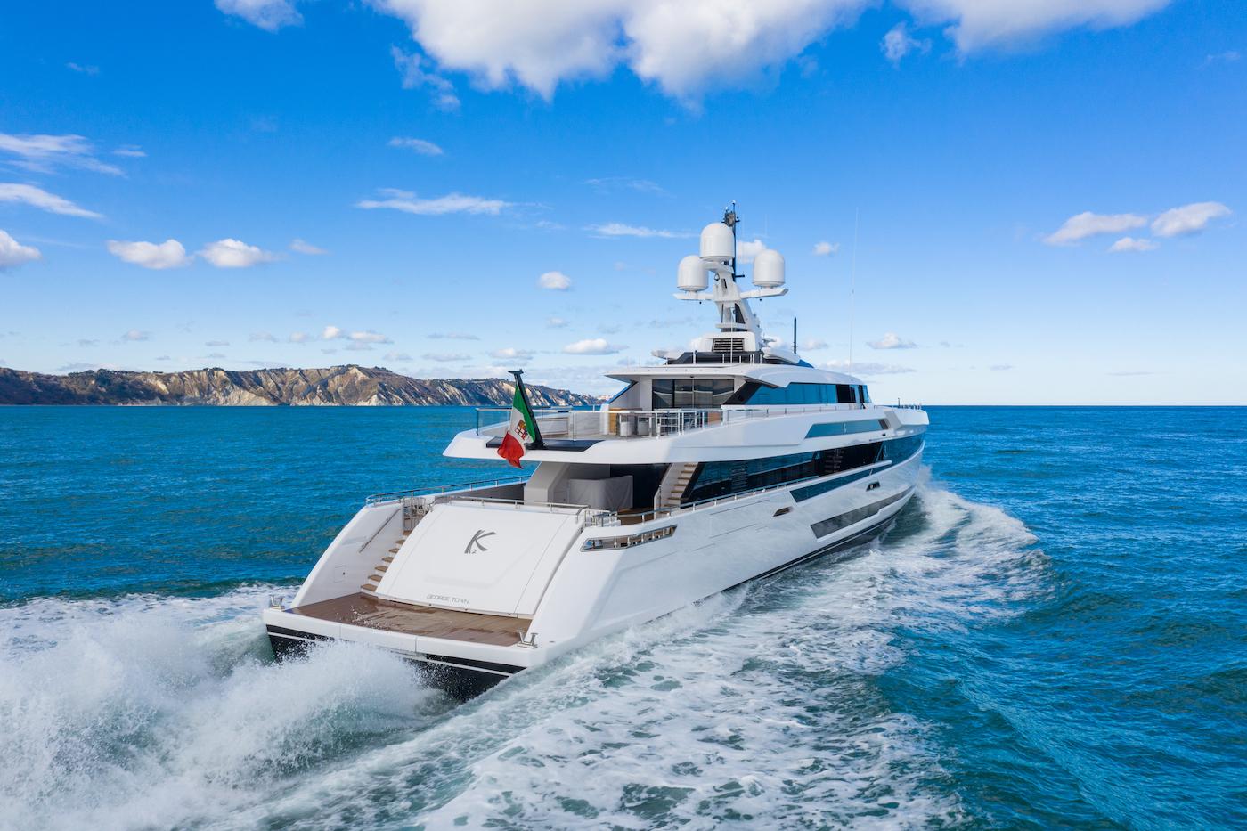 Columbus Sport 50 superyacht K2