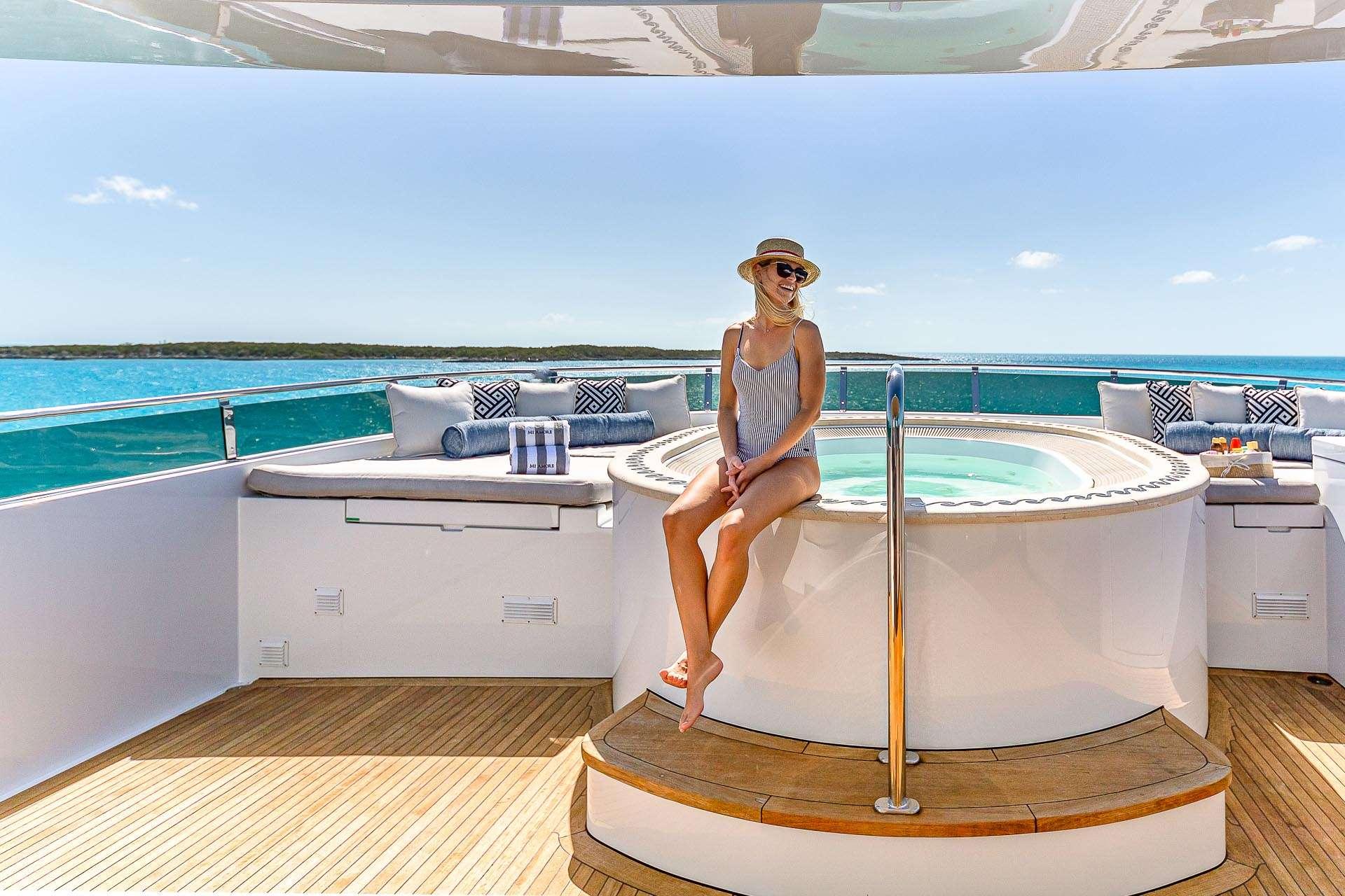 Jacuzzi - superyacht lifestyle