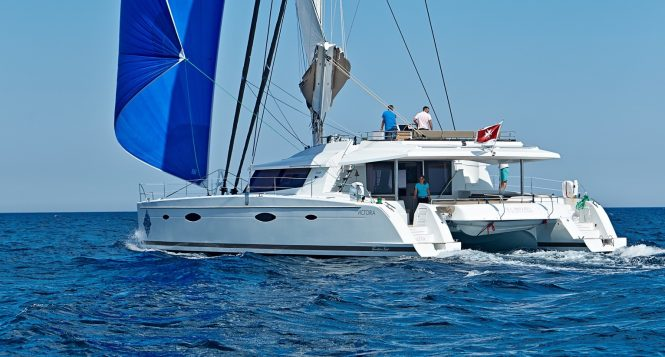 Luxury catamaran yacht LIR