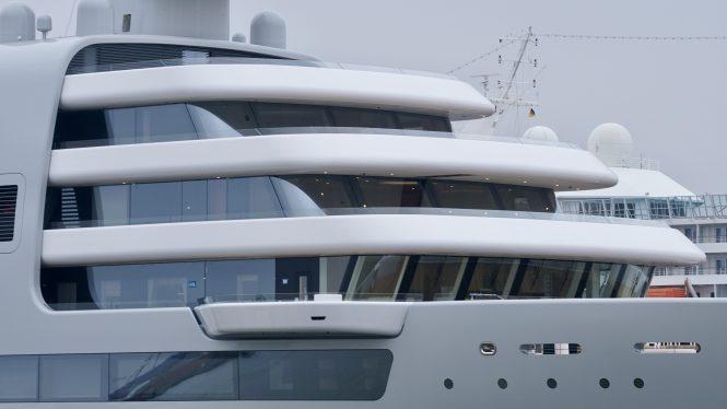 mega yacht SOLARIS © DrDuu