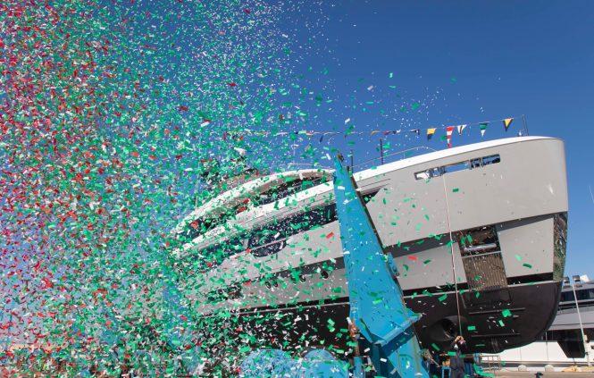 Benetti Launch second unit of Oasis 40M motor yacht JOY