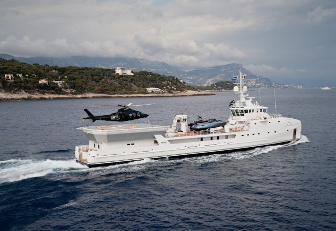 DAMEN Yacht Support GAME CHANGER