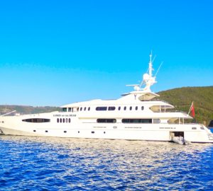 Spring special offered by 58m charter yacht LORD OF THE SEAS in the Mediterranean