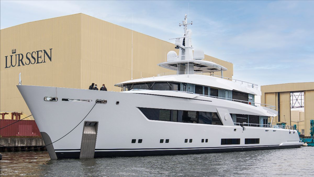 Lurssen motor yacht Project 13800 © Lurssen