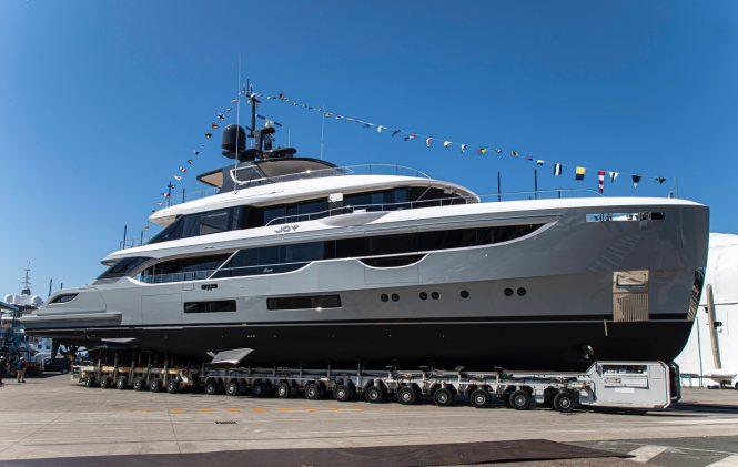 Luxury Yacht JOY ready for launch