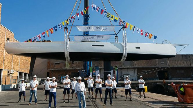 Luxury sailing yacht TANIWHA launched