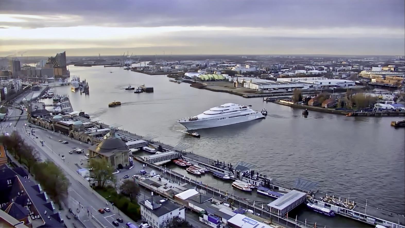 Luxury yacht project OPERA by Lurssen
