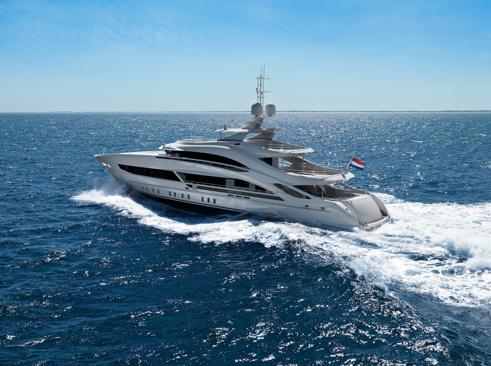 Motor yacht ARKADIA delivered to owner © Heesen Yachts